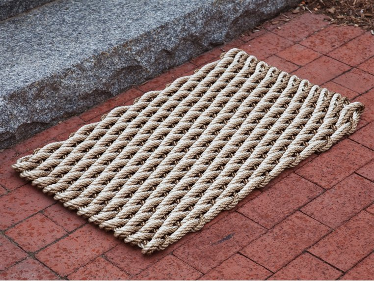 Nautical Rope Door Mat by The Rope Co. - 1