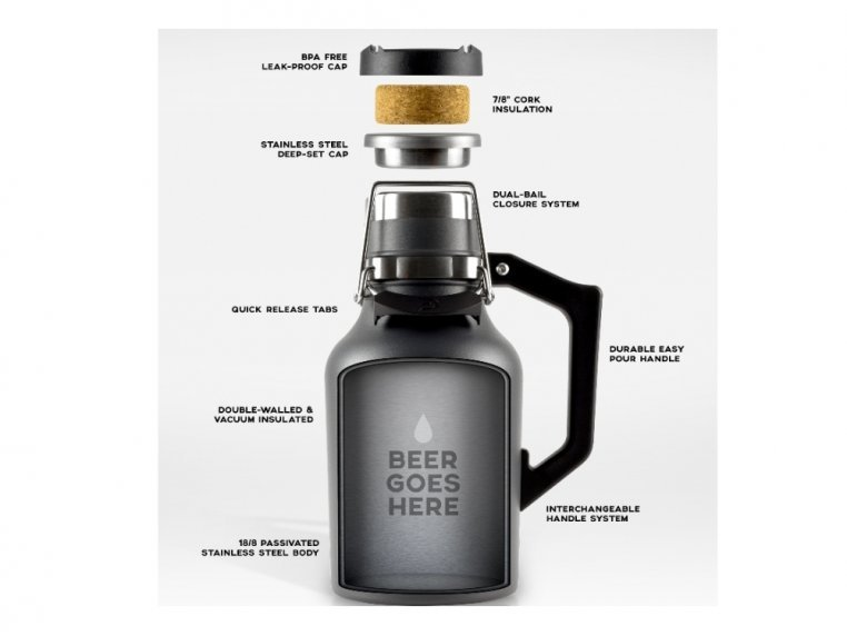 Insulated Growler by DrinkTanks - 4