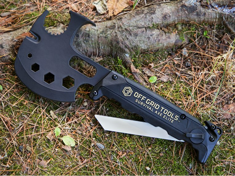 Survival Axe Elite by Innovation Factory - 1