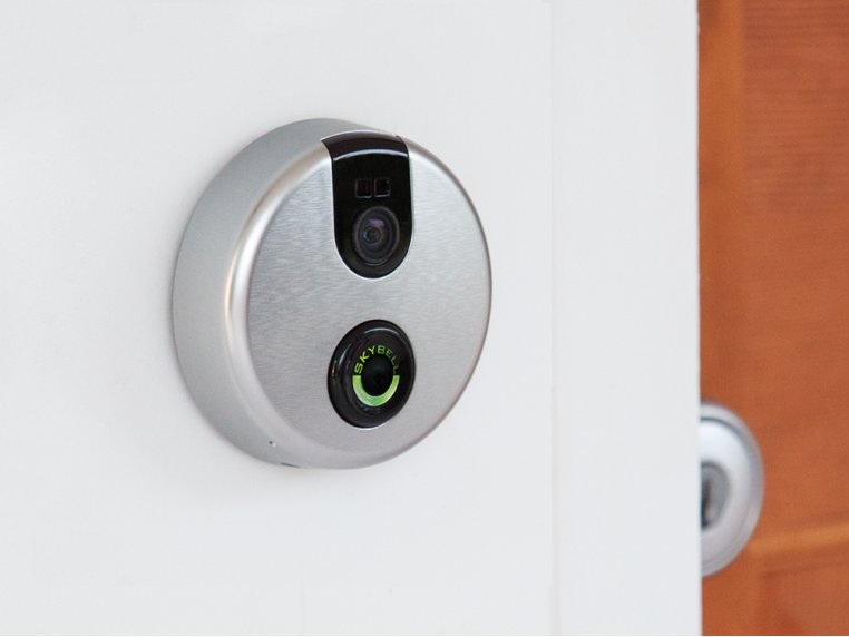 Wi-Fi Video Doorbell - Analog Silver by SkyBell - 1