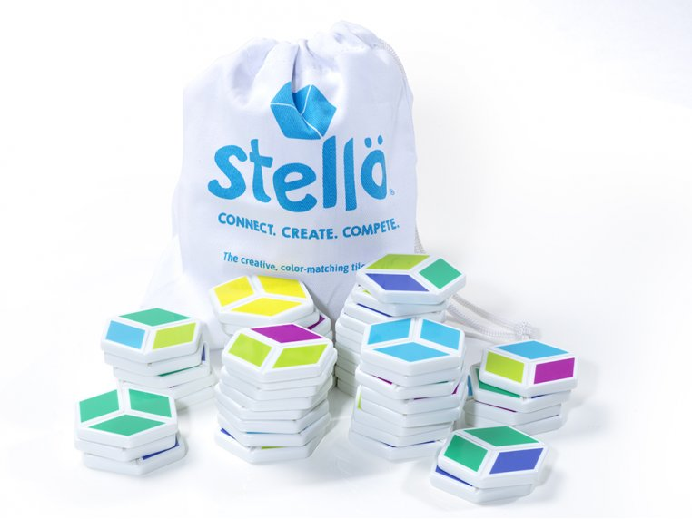 Stellö Color-Matching Tile Game by Möbi - 3