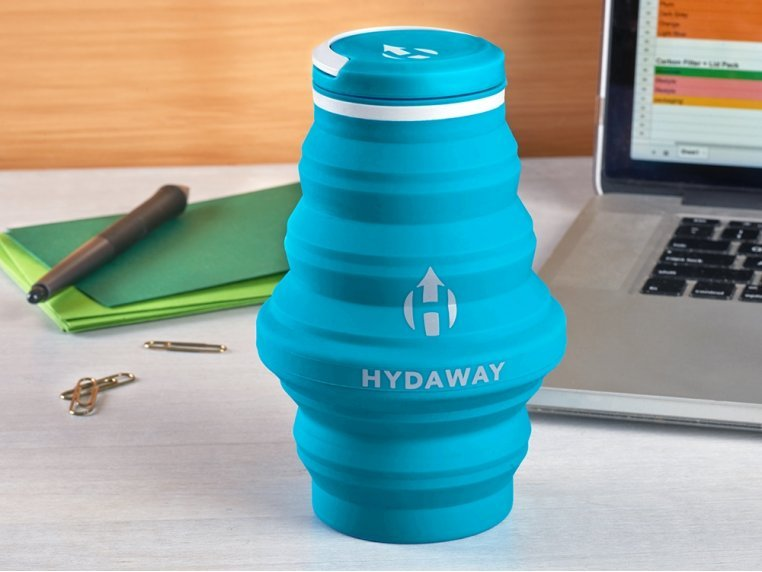 Collapsible Water Bottle by Hydaway - 1