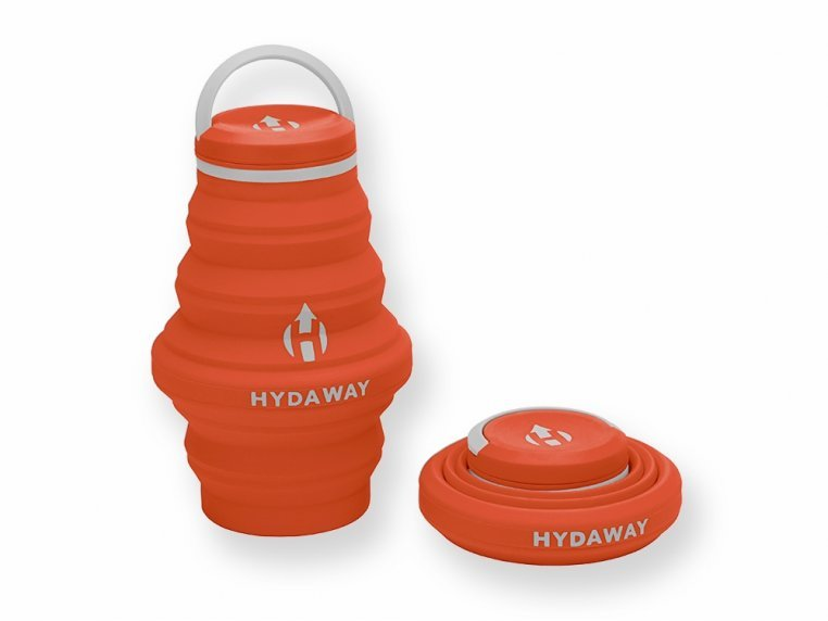 Collapsible Water Bottle by Hydaway - 4
