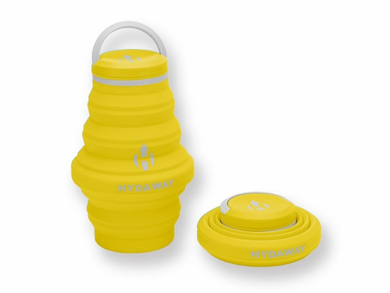 Collapsible Water Bottle by Hydaway - 9