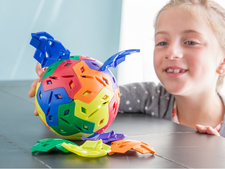 3D Building Puzzle Toy by IKOS - 2