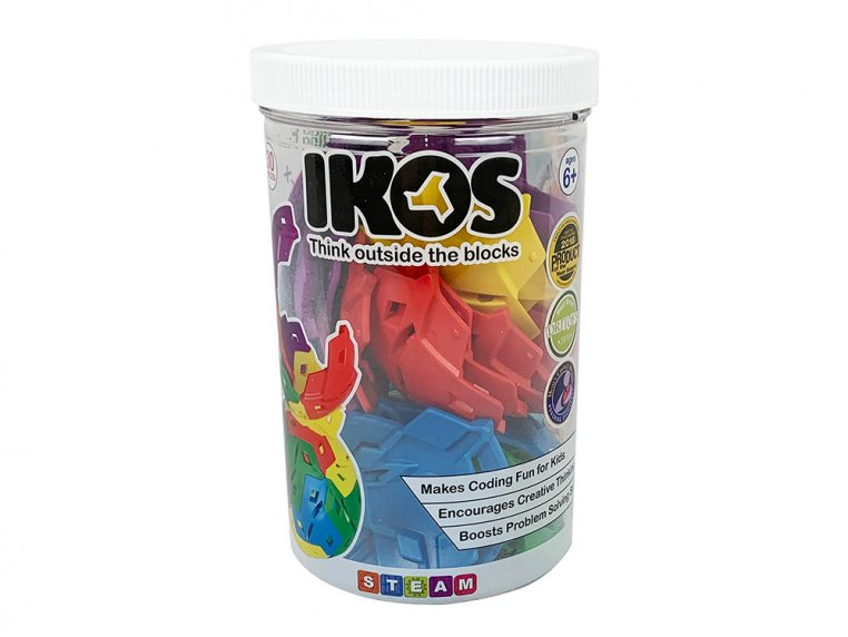 3D Building Puzzle Toy by IKOS - 5