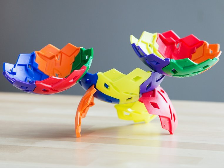 3D Building Puzzle Toy by IKOS - 1