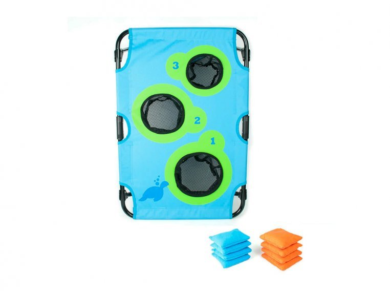 Bean Bag Toss Board Game Set by SeaTurtle Sports - 1