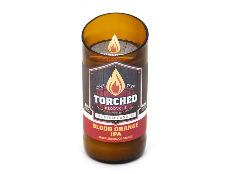 Beer Bottle Candle by Torched Products - 4