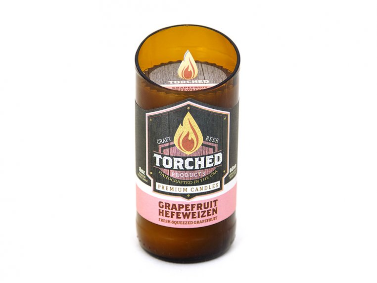 Beer Bottle Candle by Torched Products - 5