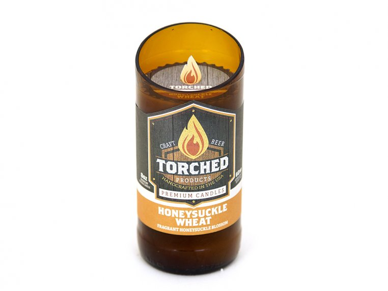 Beer Bottle Candle by Torched Products - 7