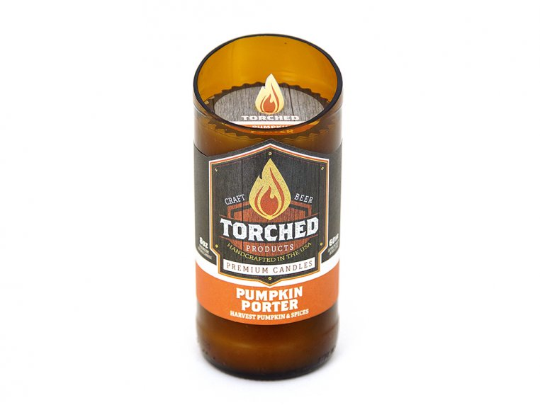 Beer Bottle Candle by Torched Products - 9