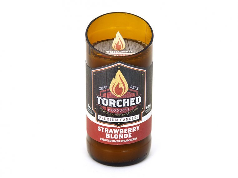 Beer Bottle Candle by Torched Products - 10
