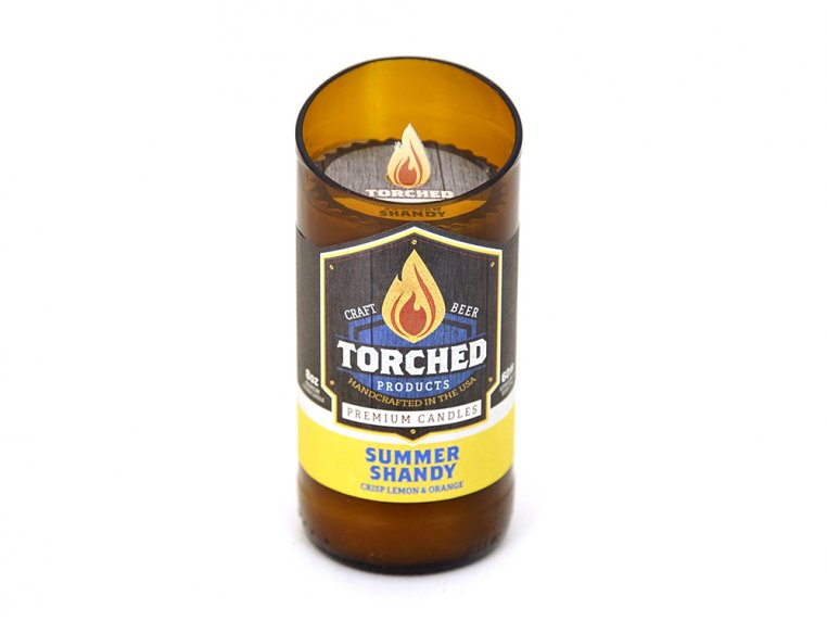 Beer Bottle Candle by Torched Products - 11