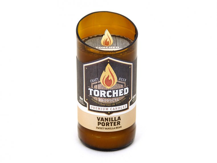 Beer Bottle Candle by Torched Products - 12