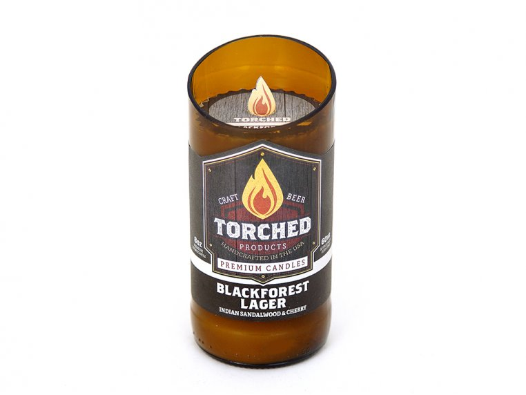 Beer Bottle Candle by Torched Products - 15