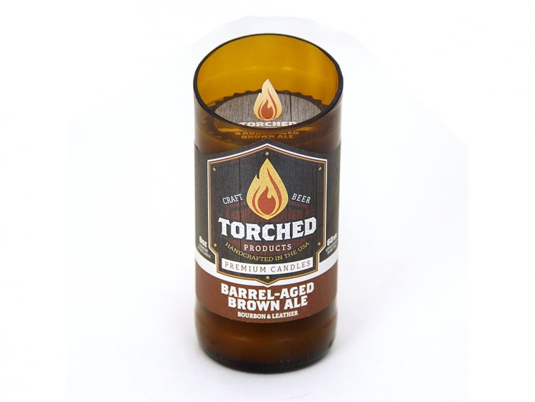 Beer Bottle Candle by Torched Products - 16