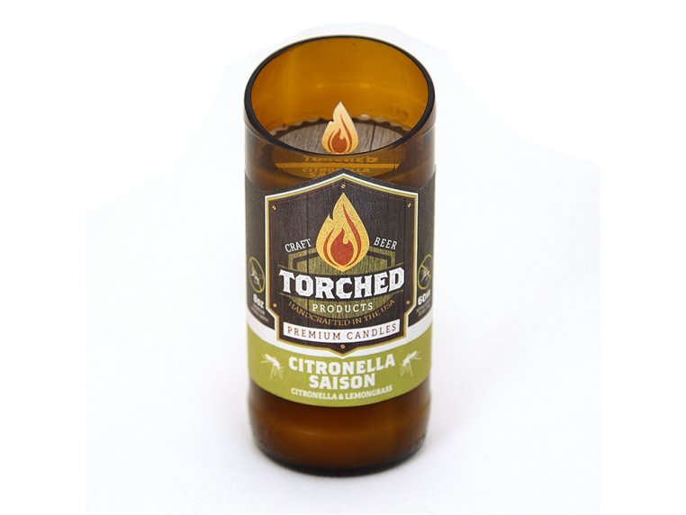 Beer Bottle Candle by Torched Products - 17