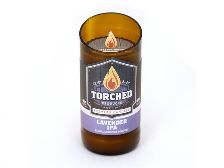 Beer Bottle Candle by Torched Products - 18