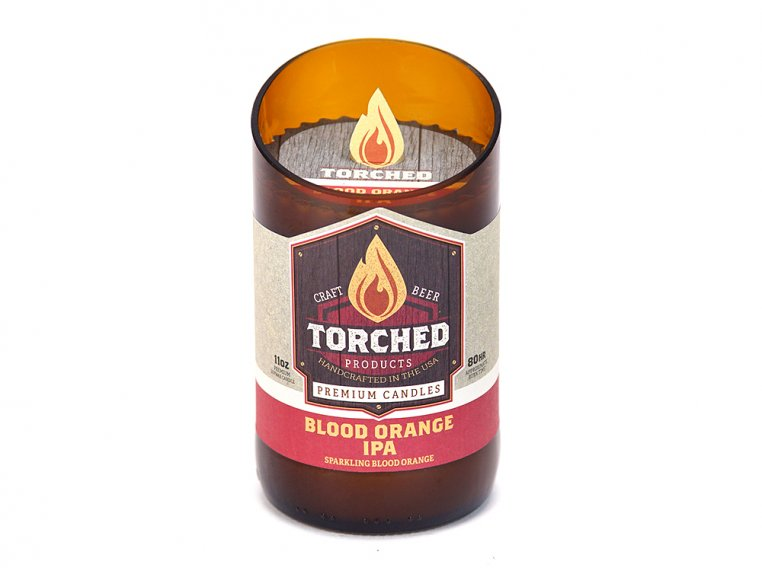Beer Bottle Candle by Torched Products - 20