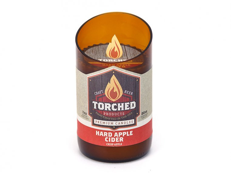 Beer Bottle Candle by Torched Products - 22