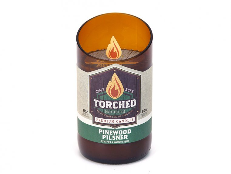 Beer Bottle Candle by Torched Products - 24