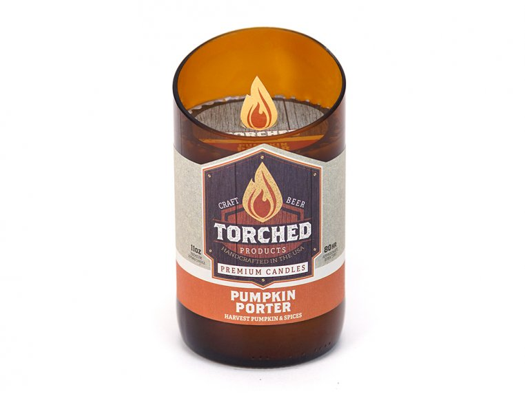 Beer Bottle Candle by Torched Products - 25