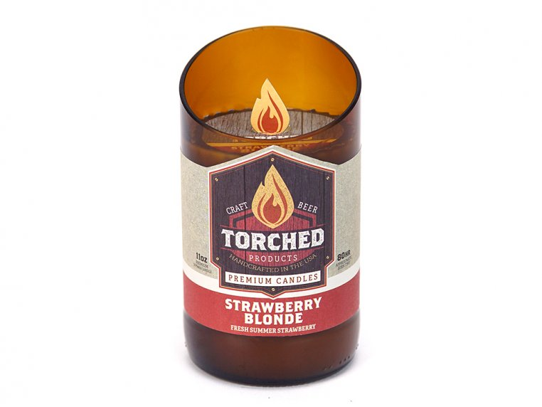 Beer Bottle Candle by Torched Products - 26