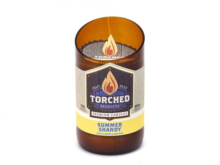 Beer Bottle Candle by Torched Products - 27