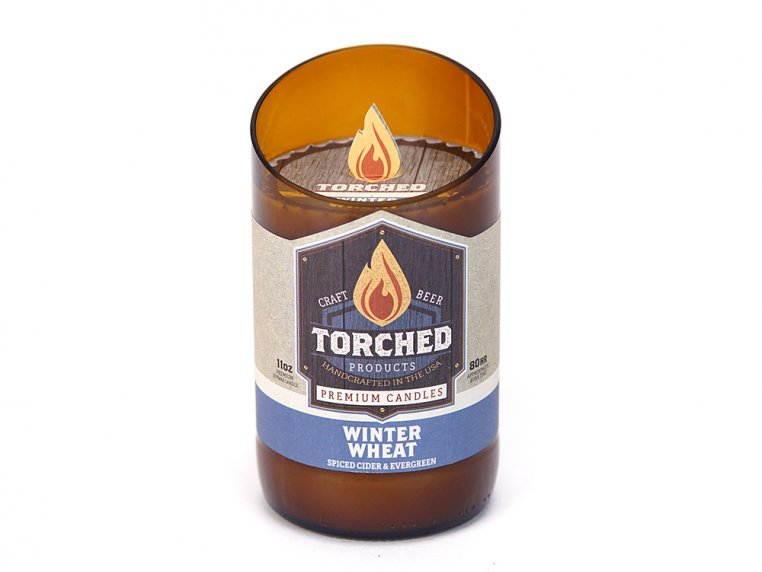Beer Bottle Candle by Torched Products - 29