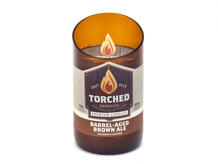 Beer Bottle Candle by Torched Products - 32