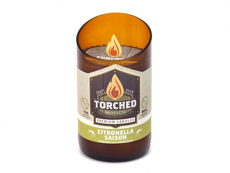 Beer Bottle Candle by Torched Products - 33