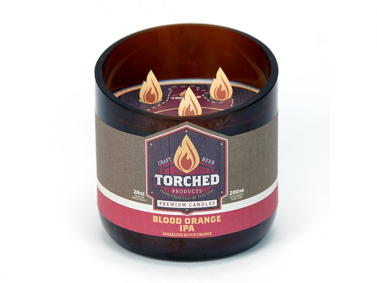 Beer Bottle Candle by Torched Products - 36