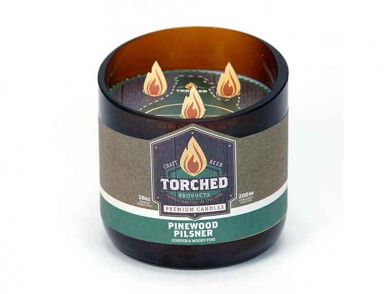 Beer Bottle Candle by Torched Products - 40