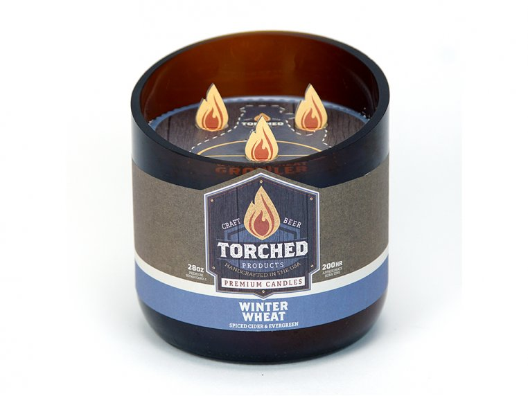 Beer Bottle Candle by Torched Products - 45