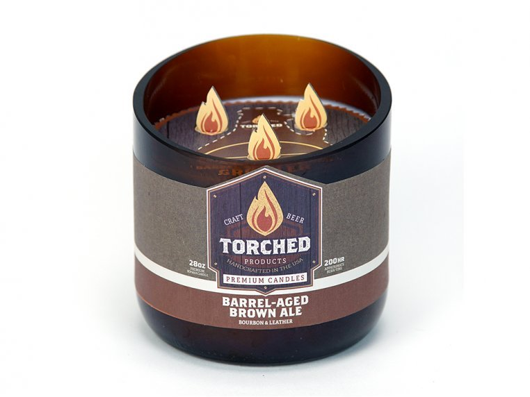 Beer Bottle Candle by Torched Products - 48