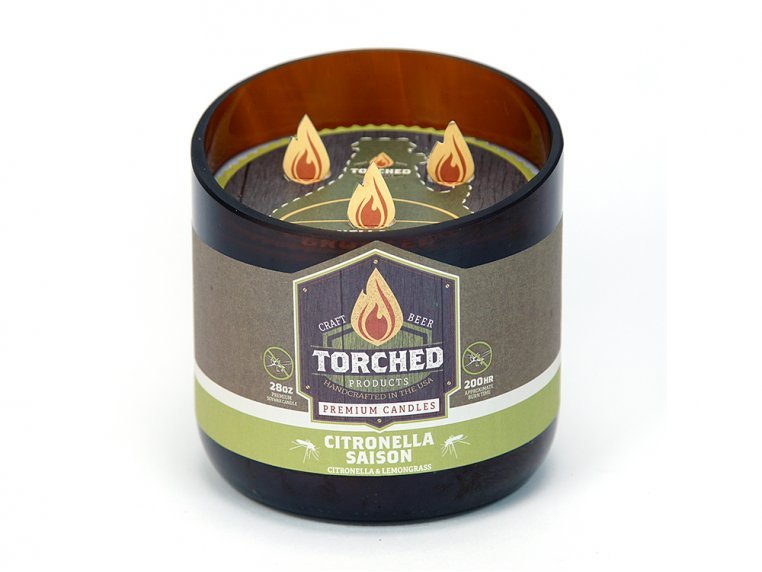 Beer Bottle Candle by Torched Products - 49