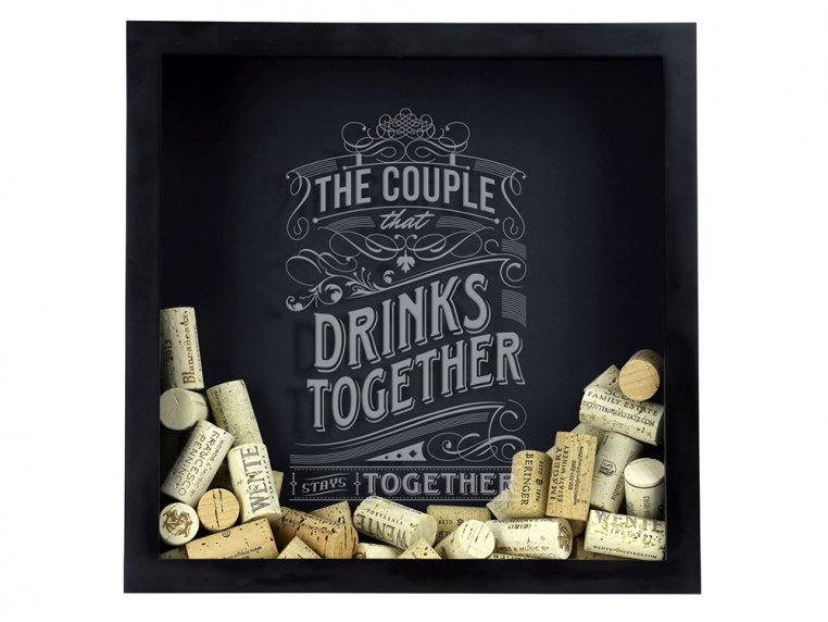Cap & Cork Shadow Box by Torched Products - 4