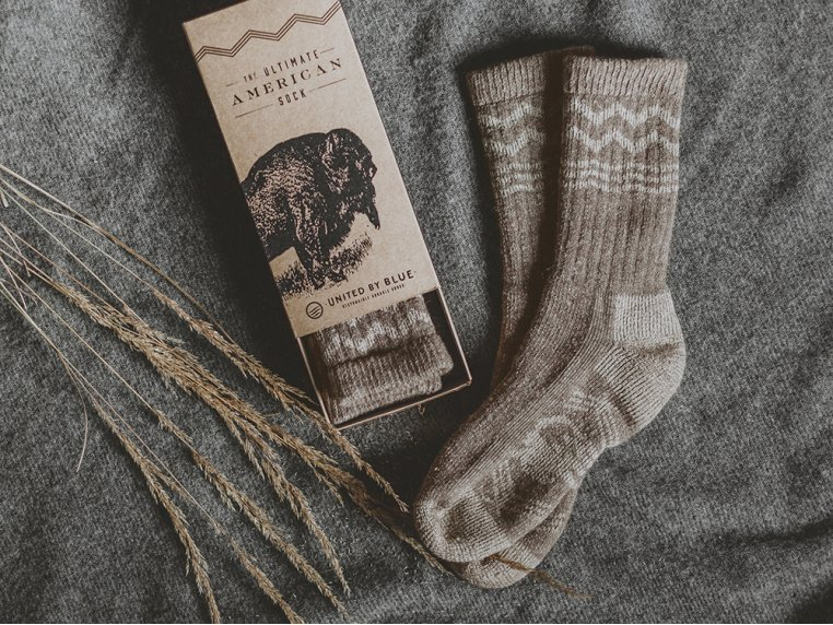 Ultimate American Bison Sock by United By Blue - 2