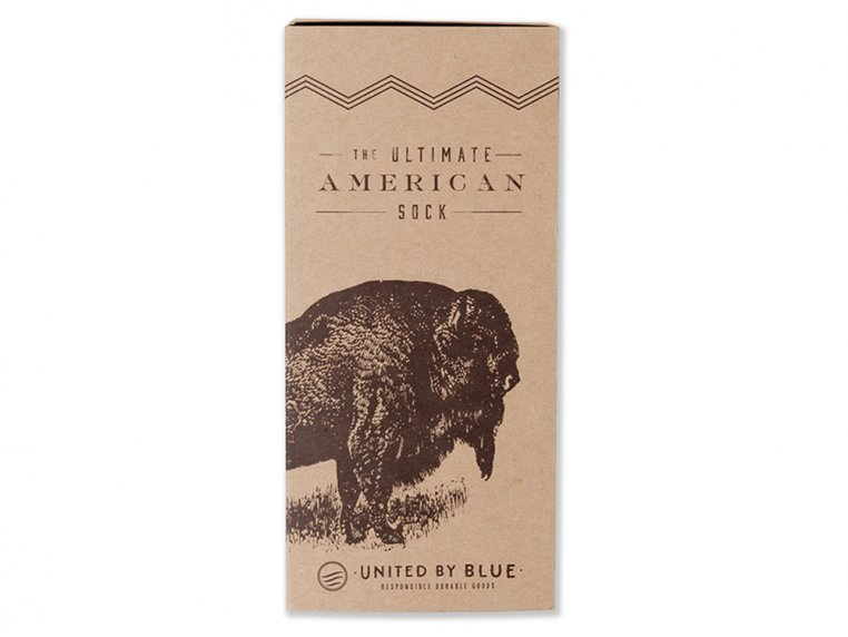 Ultimate American Bison Sock by United By Blue - 8