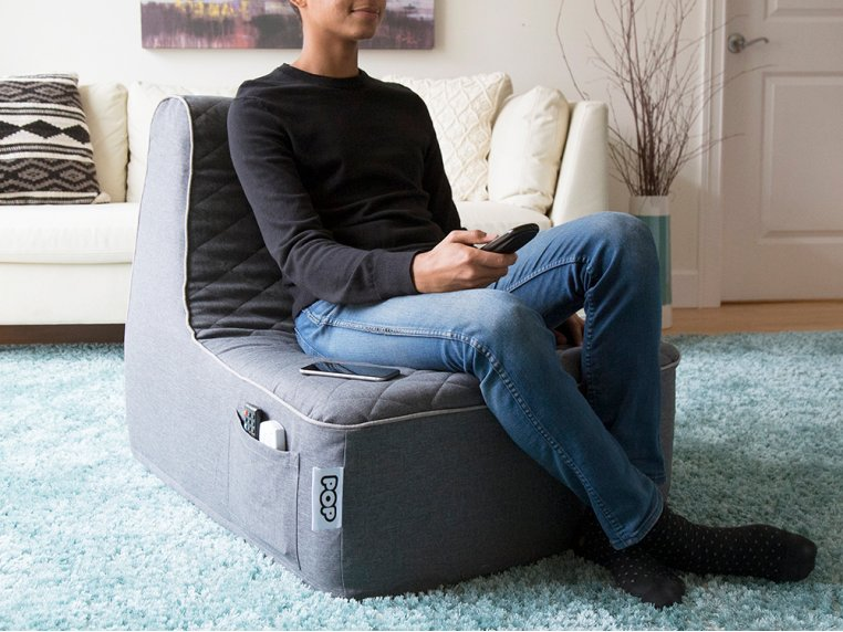Wide Base Lounger Luxe by PopLounge - 2