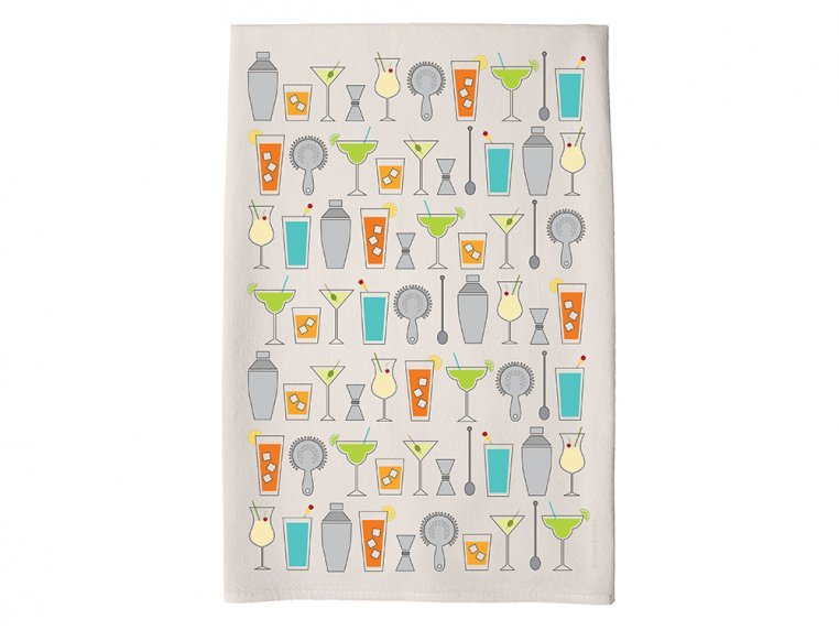 Patterned Hand Towel by Coast & Cotton - 7