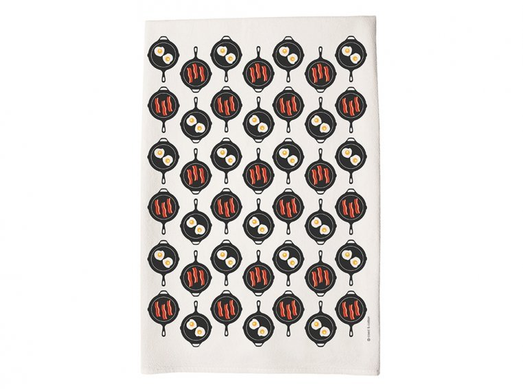 Patterned Hand Towel by Coast & Cotton - 8