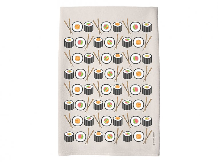 Patterned Hand Towel by Coast & Cotton - 13