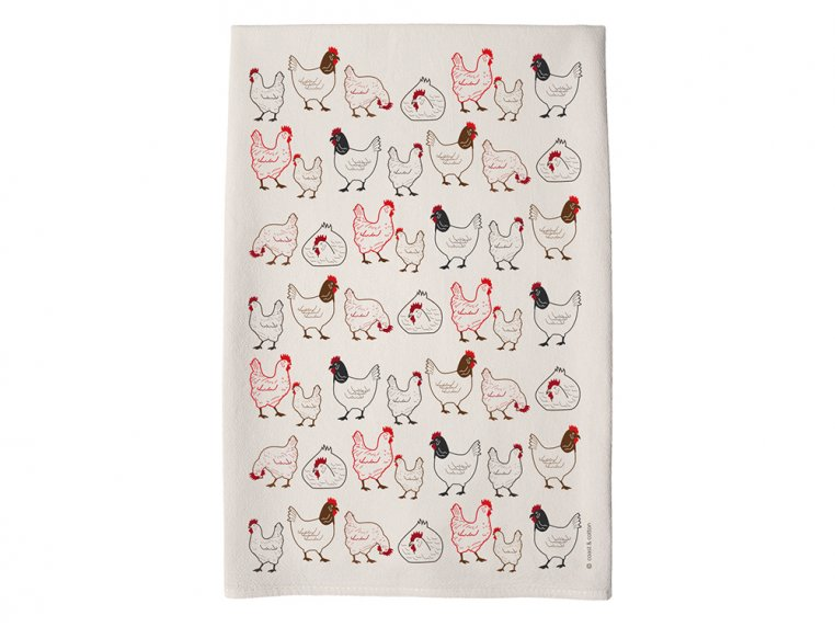 Patterned Hand Towel by Coast & Cotton - 16