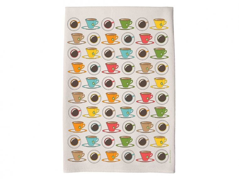 Patterned Hand Towel by Coast & Cotton - 30