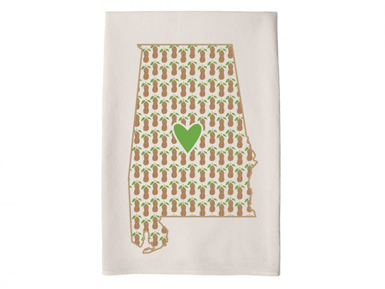 Patterned Hometown Heart Hand Towel by Coast & Cotton - 3