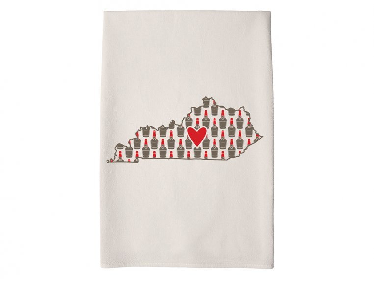 Patterned Hometown Heart Hand Towel by Coast & Cotton - 19
