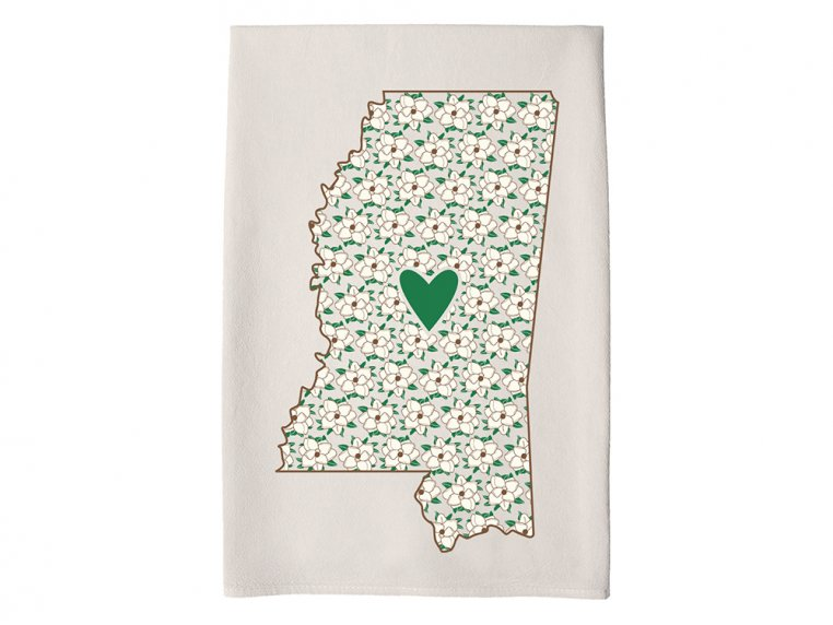 Patterned Hometown Heart Hand Towel by Coast & Cotton - 23