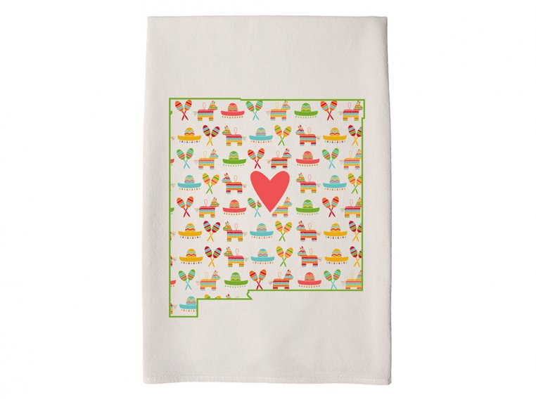 Patterned Hometown Heart Hand Towel by Coast & Cotton - 30